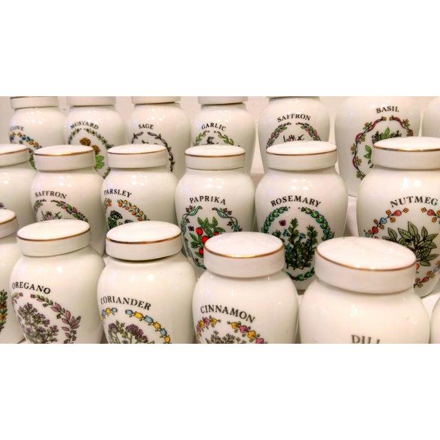 Franklin Mint Spice Jars - Set of 23 - Image 4 of 11
