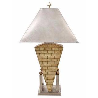 Greek Empire Metallic Lamp