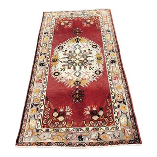 Vintage Turkish Anatolian Rug - 3′3″ × 6′6″