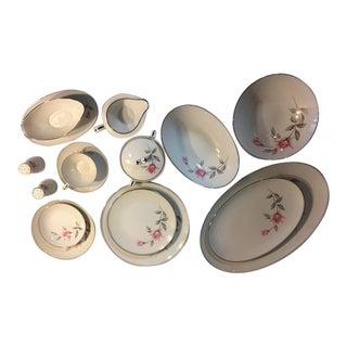 Noritake China -- Rosemarie, Set of 10
