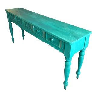 Beautiful Console with Five Drawers