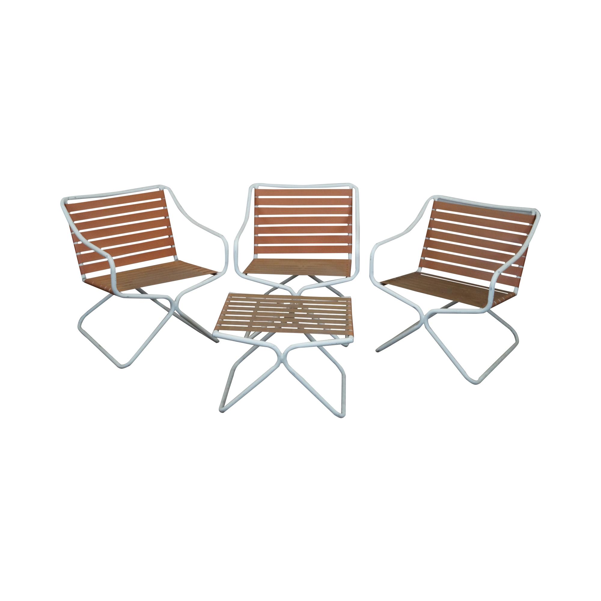 brown jordan patio arm chairs u0026 ottoman set