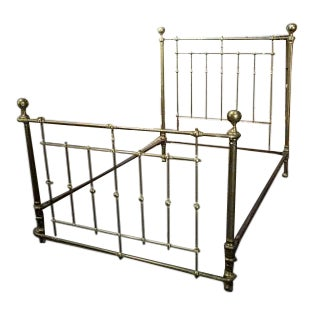 Ansonia Brass & Copper Co. Brass Bedframe