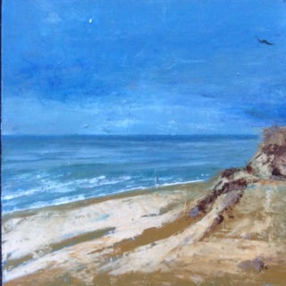 Ballston Beach Abstract Seascape Painting