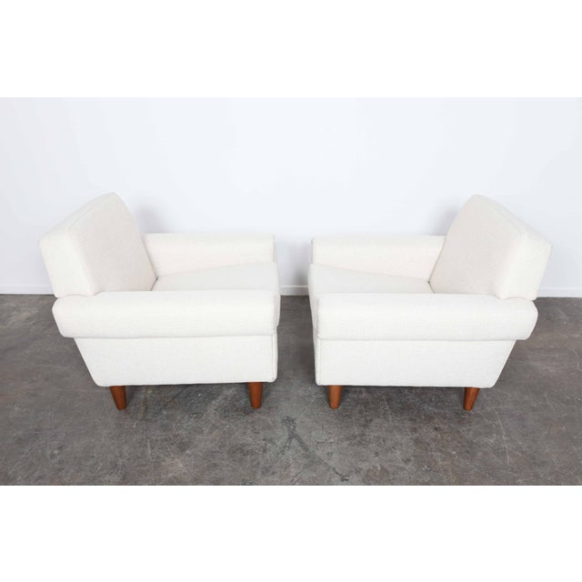 Pair of newly upholstered Swedish midcentury lounge chairs by Ire Mobel - Image 2 of 6