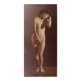 Contemporary Female Nude Oil Painting by Argentine Artist Alejandro Rosemberg