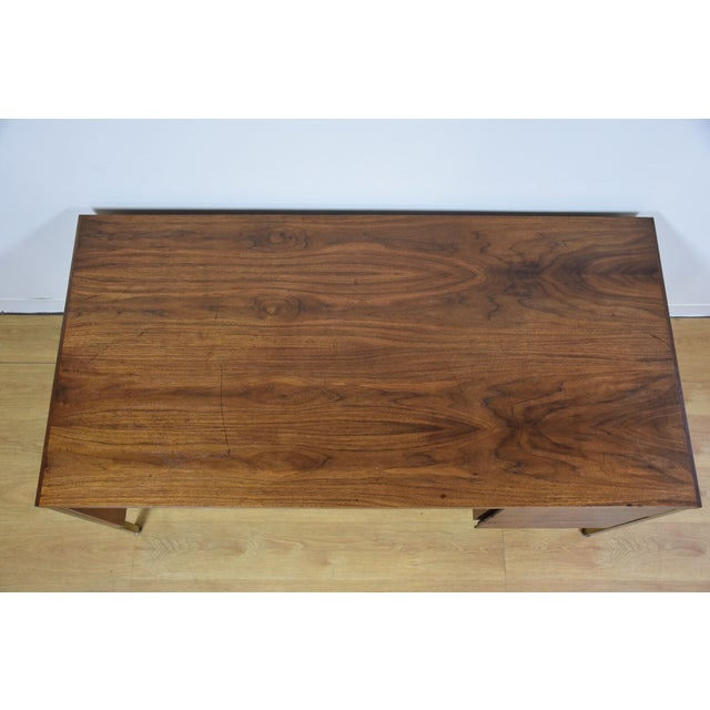 Walnut Executive Desk - Image 6 of 11