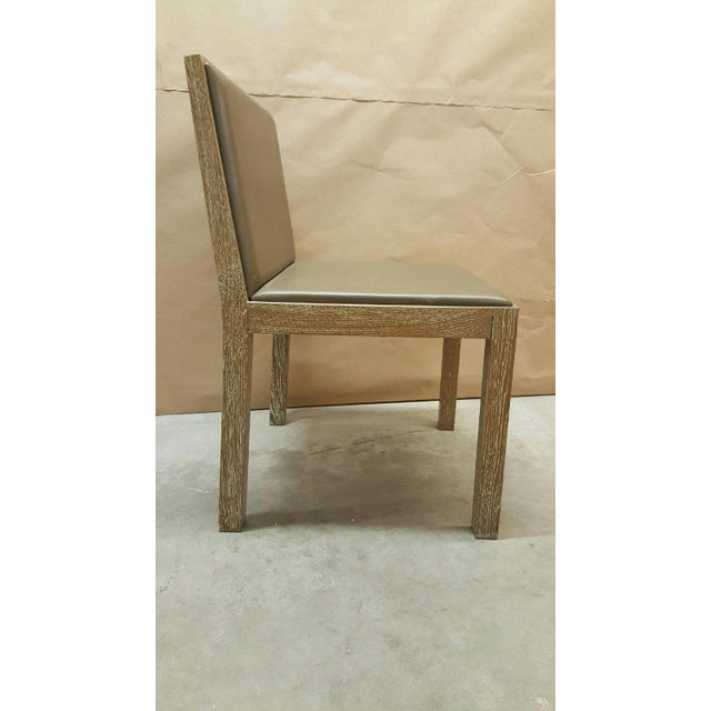 Jean Michel Frank Style Side Chairs- Set of 4 - Image 5 of 6