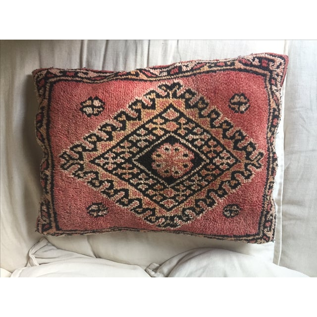 Vintage Turkish Kilim Pillow - Image 4 of 7