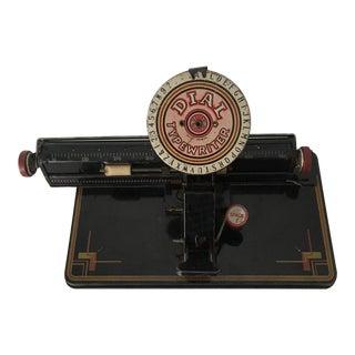 Vintage Junior Dial Typewriter