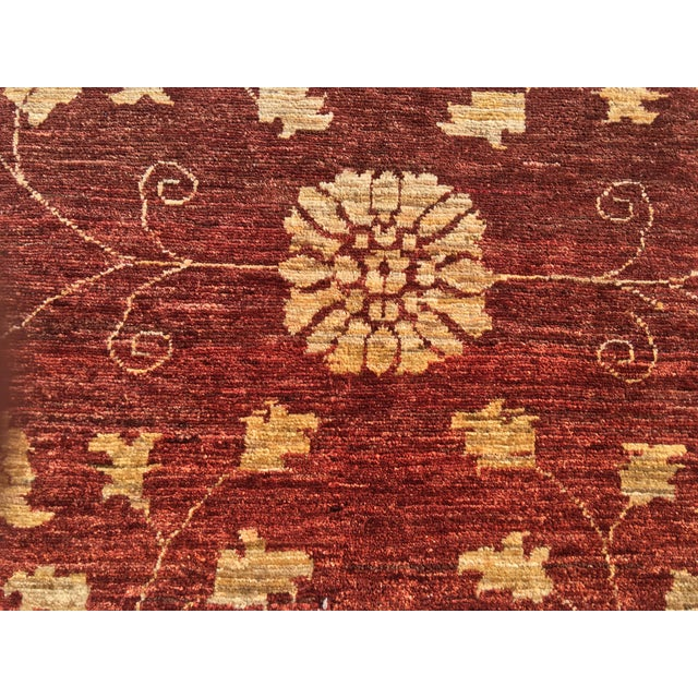 "Brand New Very Soft Turkish Oushak Rug - 5'5"" x 6' - Image 4 of 11"