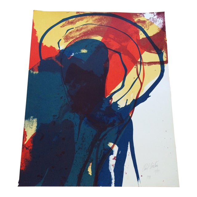 Signed 1971 Paul Jenkins Lithograph - Image 1 of 5