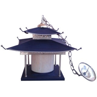 1950s Pagoda Chandelier by Atlas Lighting
