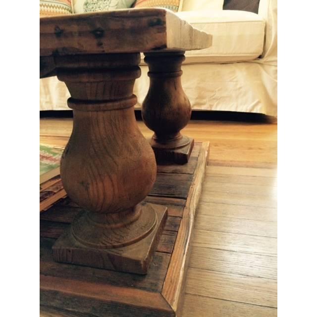 Arhaus Wooden Coffee Table - Image 6 of 9