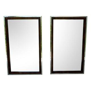 Chrome John Stuart for Widdicomb Mirrors - A Pair