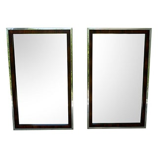 Chrome John Stuart for Widdicomb Mirrors - A Pair