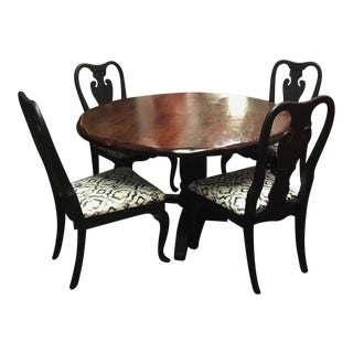 Graphite & Poly Top Dining Set