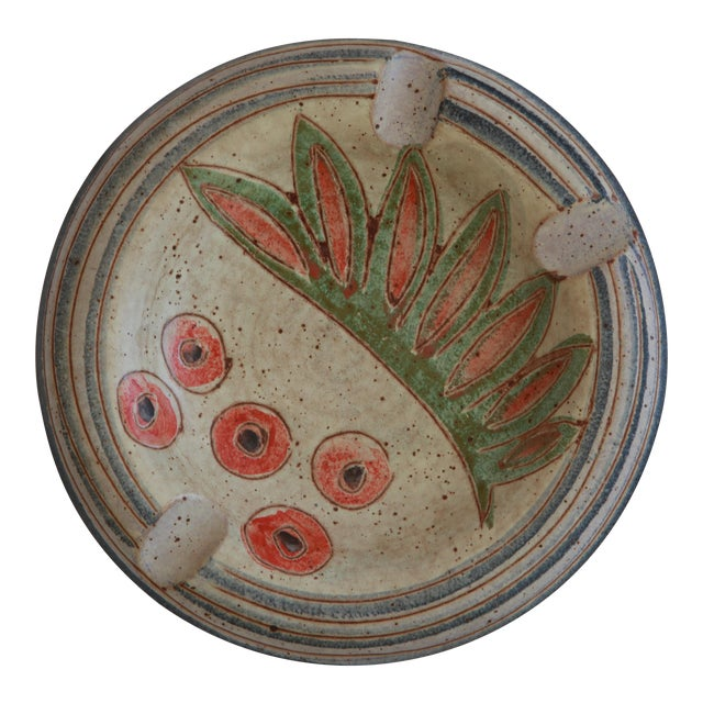 Mid-Century Abstract Modern Ashtray - Image 1 of 4