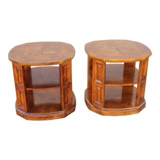 Henredon Mid-Century End Tables - A Pair