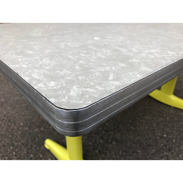 Vintage Industrial American Seating Co. Dining Table - Image 10 of 11