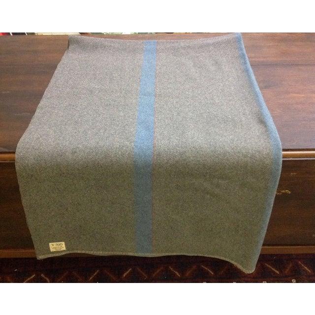 1944 Grey Wool Blanket - Image 3 of 7