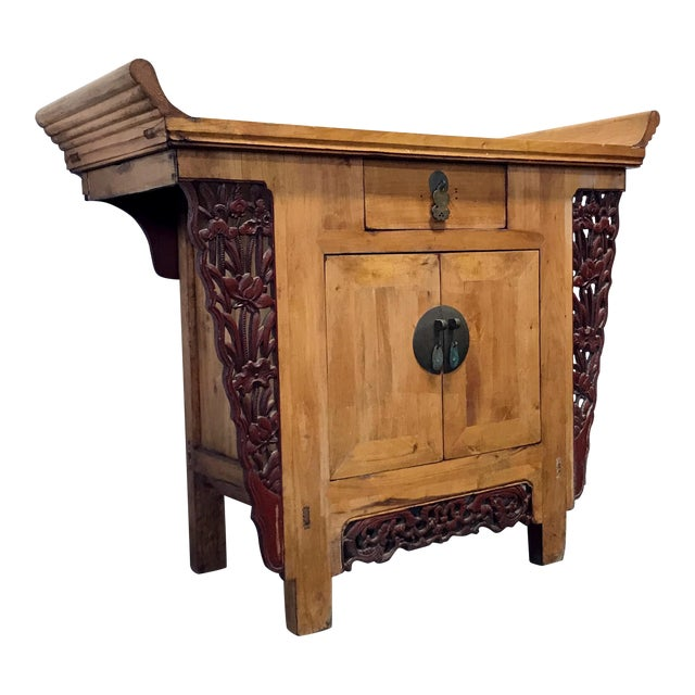 Antique Chinese Altar Cabinet - Antique Chinese Altar Cabinet Chairish