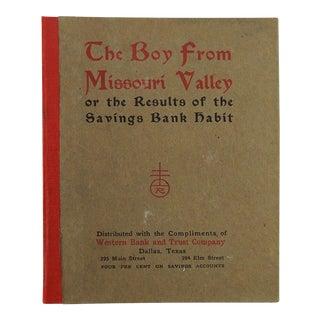 The Boy From Missouri Valley 1904 Roycroft Book