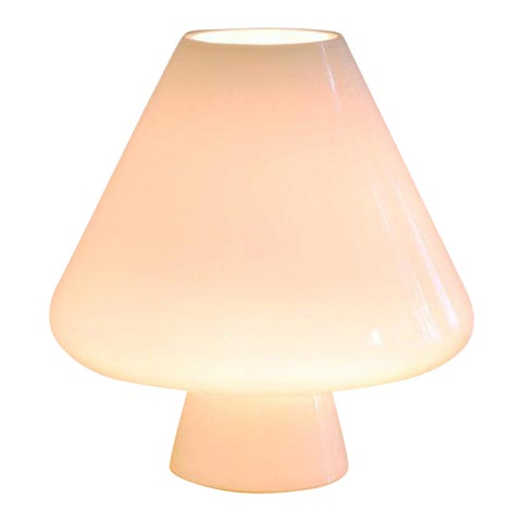 "Image of Murano Opal ""Volcanic Lingham"" Table Lamp"