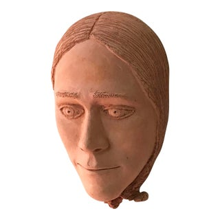 Vintage Terracotta Face Mask