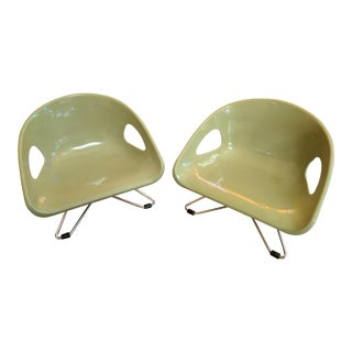 Cosco Mid-Century Modern Children's Chairs - A Pair