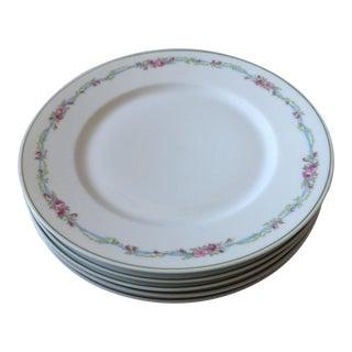 French Limoges Porcelain Plates - Set of 5