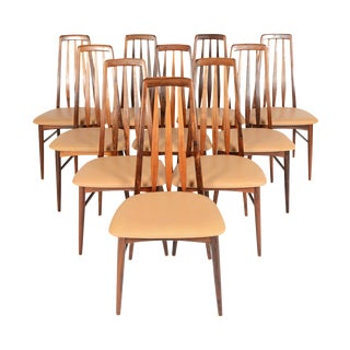 Koefoeds Hornslet Rosewood Dining Chairs - S/10