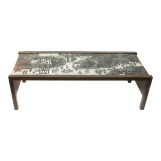 """Spring Festival"" Waterfall Coffee Table by Philip and Kelvin LaVerne"