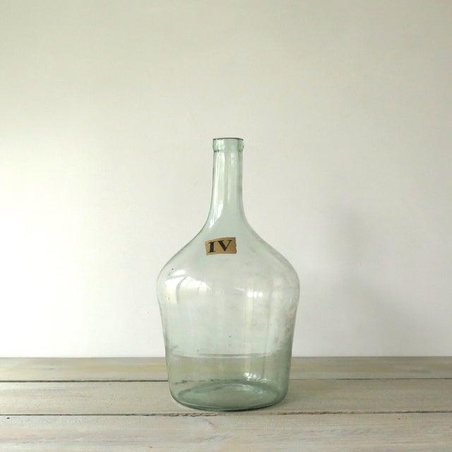 Vintage Green Glass Demijohn Bottle - Image 9 of 9