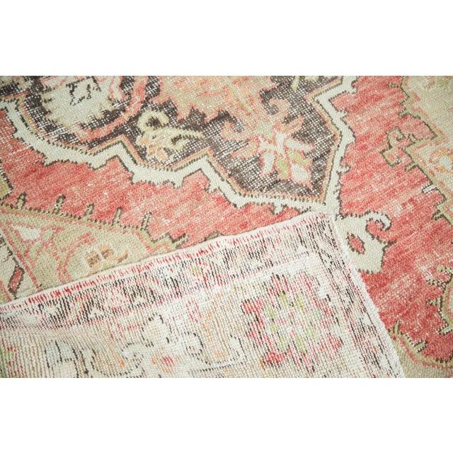 Vintage Oushak Carpet - 4′10″ × 8′2″ - Image 5 of 10