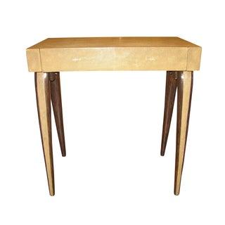 R & Y Augousti Genuine Shagreen End Table