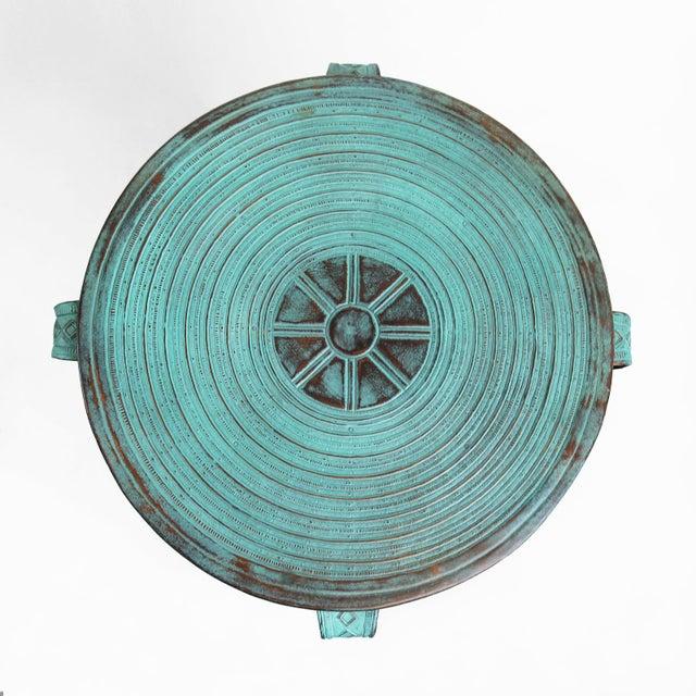Copper Rain Drum Table - Image 3 of 5