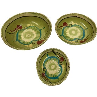 Vintage Mexican Bowls - Set of 3