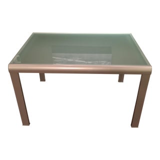 Glass Expandable Dining Table