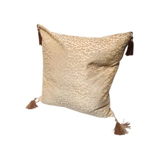 Hollywood Regency Luxe Leopard Pillow