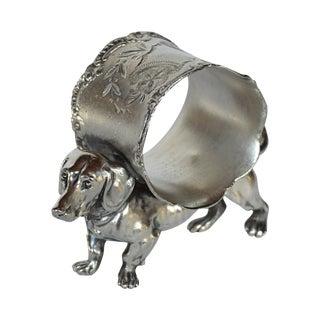 Victorian Dachshund Napkin Ring