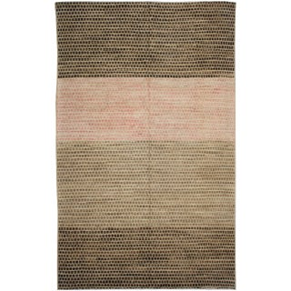 Hand Knotted Navajo Rug by Aara Rugs Inc. 9′ × 12′