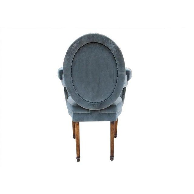 Provence Velvet Arm Chair - Image 3 of 8