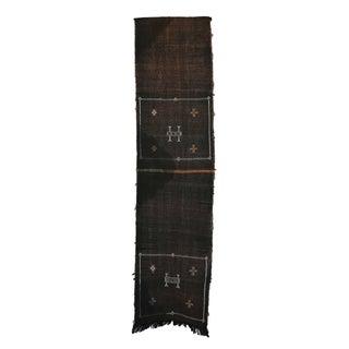 """Vintage Moroccan Cactus Silk Rug - 1'10"""" X 7'5"""""""