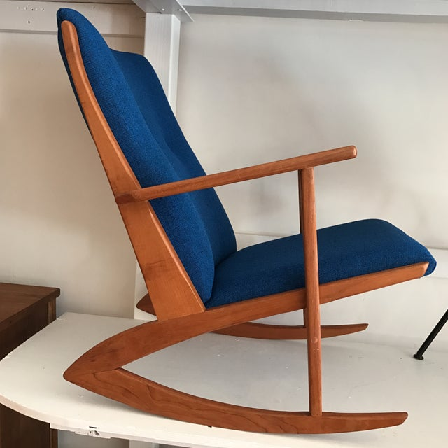 Georg Jensen Danish Modern Rocking Chair  Chairish