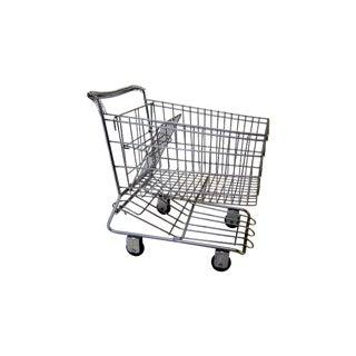 Vintage Metal Shopping Cart