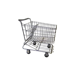 Vintage Metal Shopping Cart