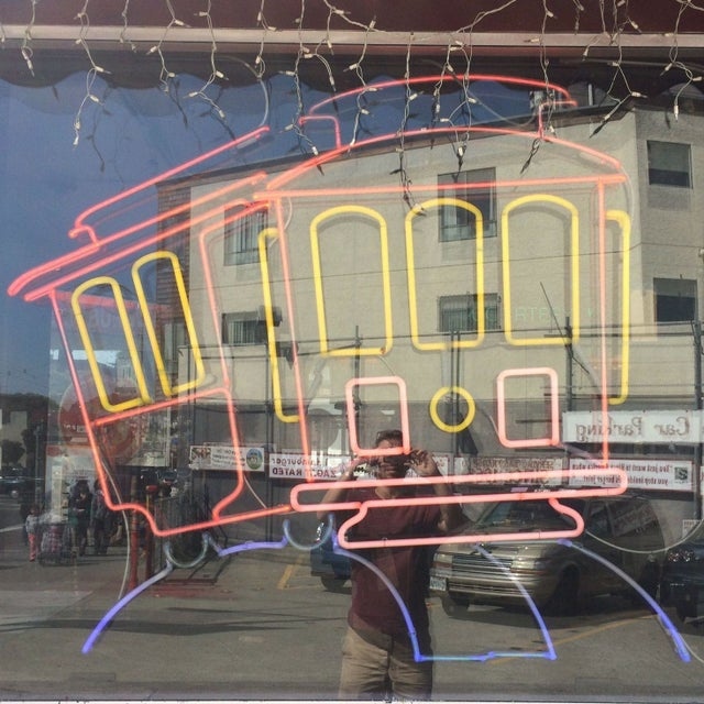 Image of Vintage Neon Sign - Cable Car