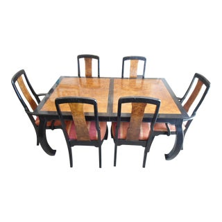 Bernhardt Asian Dining Set - Set of 7