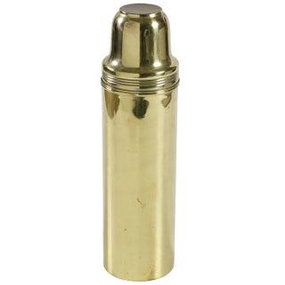 C. 1900 Brass Thermos